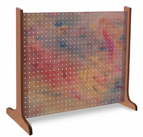 Single Panel Pegboard Display Amp Portable Craftshop Art